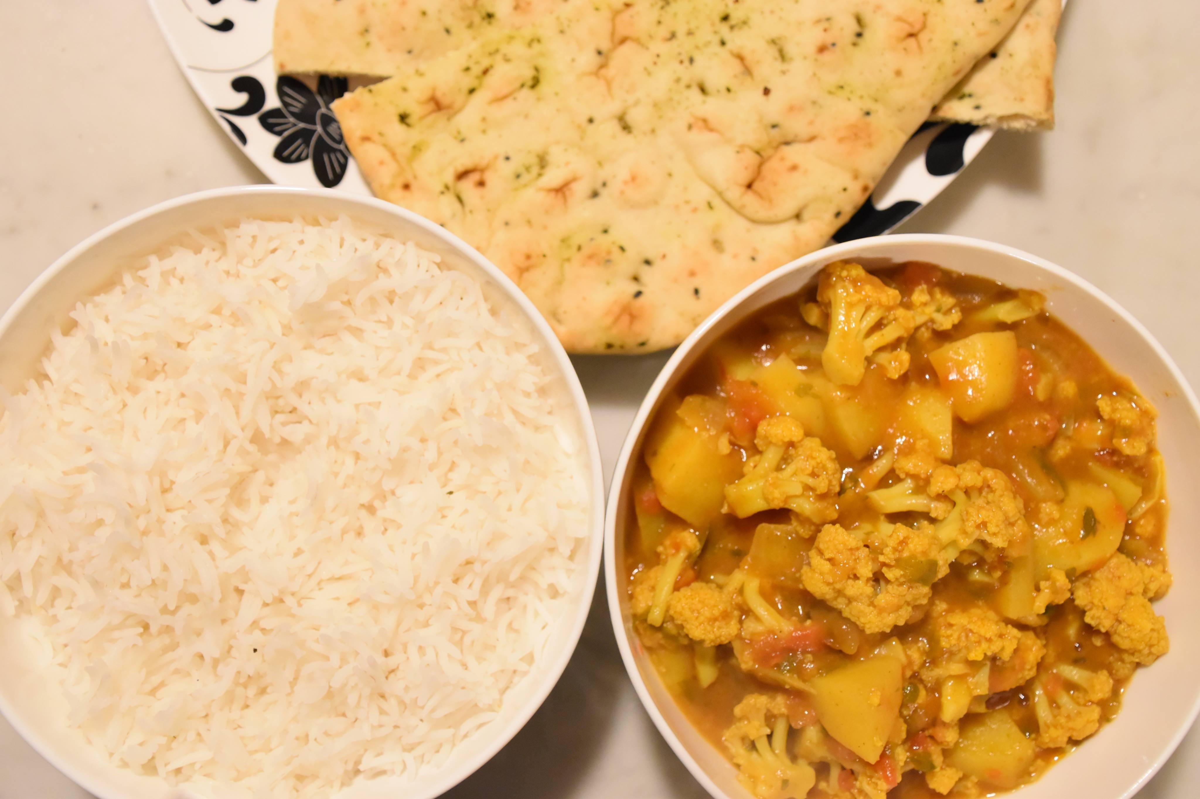 Indian curry recipe - Aloo Gobi