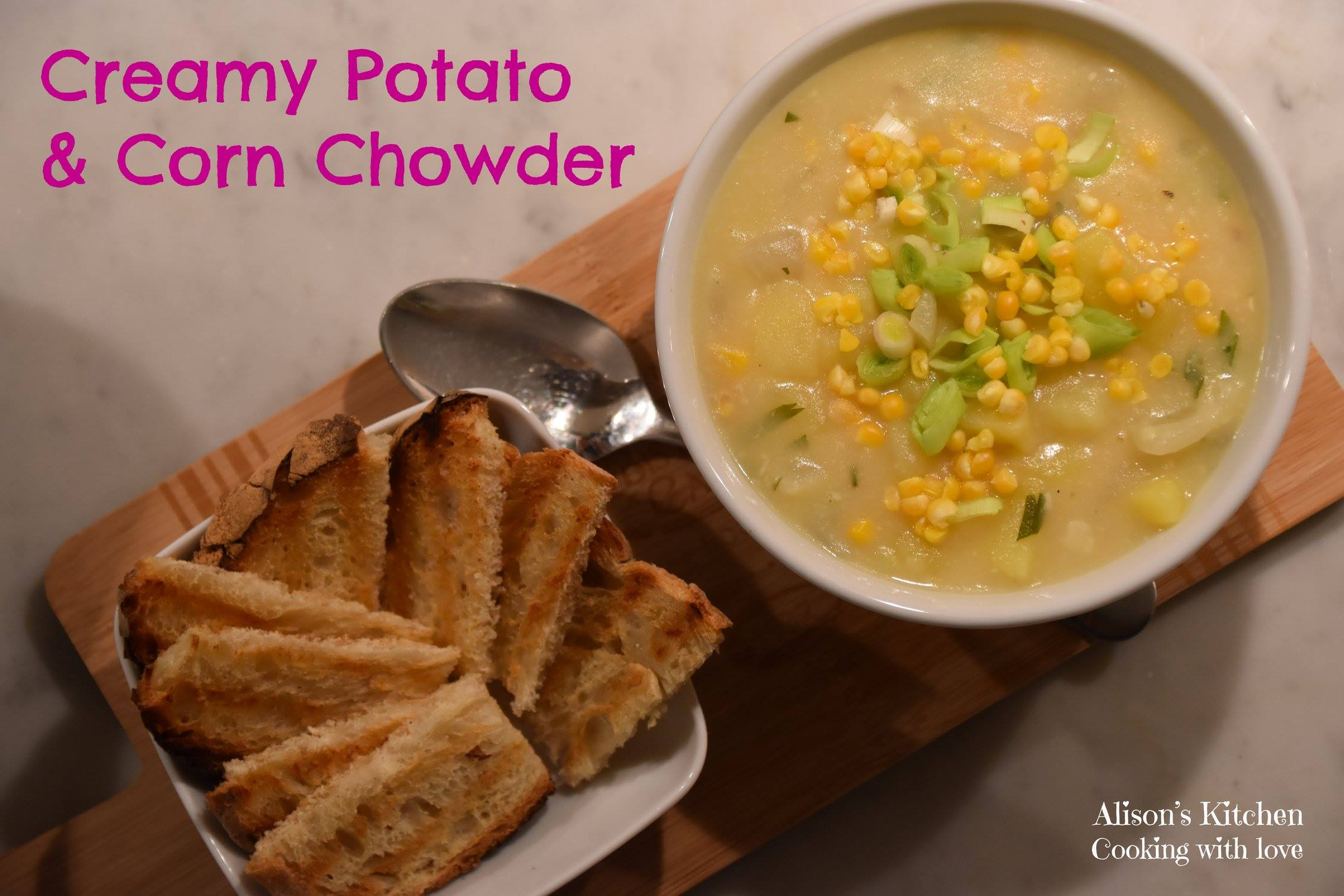Creamy Potato & Corn Chowder main