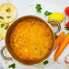 One Pot Wonder – Golden Lentil Daal (a quick one pot meal)