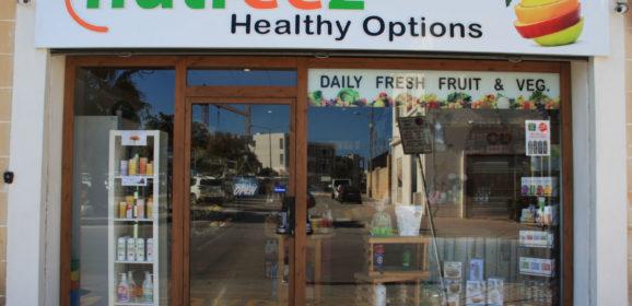 Nutreez health shop in Naxxar