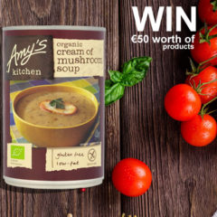 Facebook Competition – Win €50 worth of Amy's Kitchen products – ends 31st March 2019