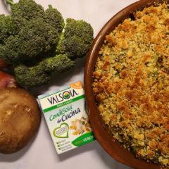 Broccoli and pasta bake with Valsoia CondiSoia da Cucina