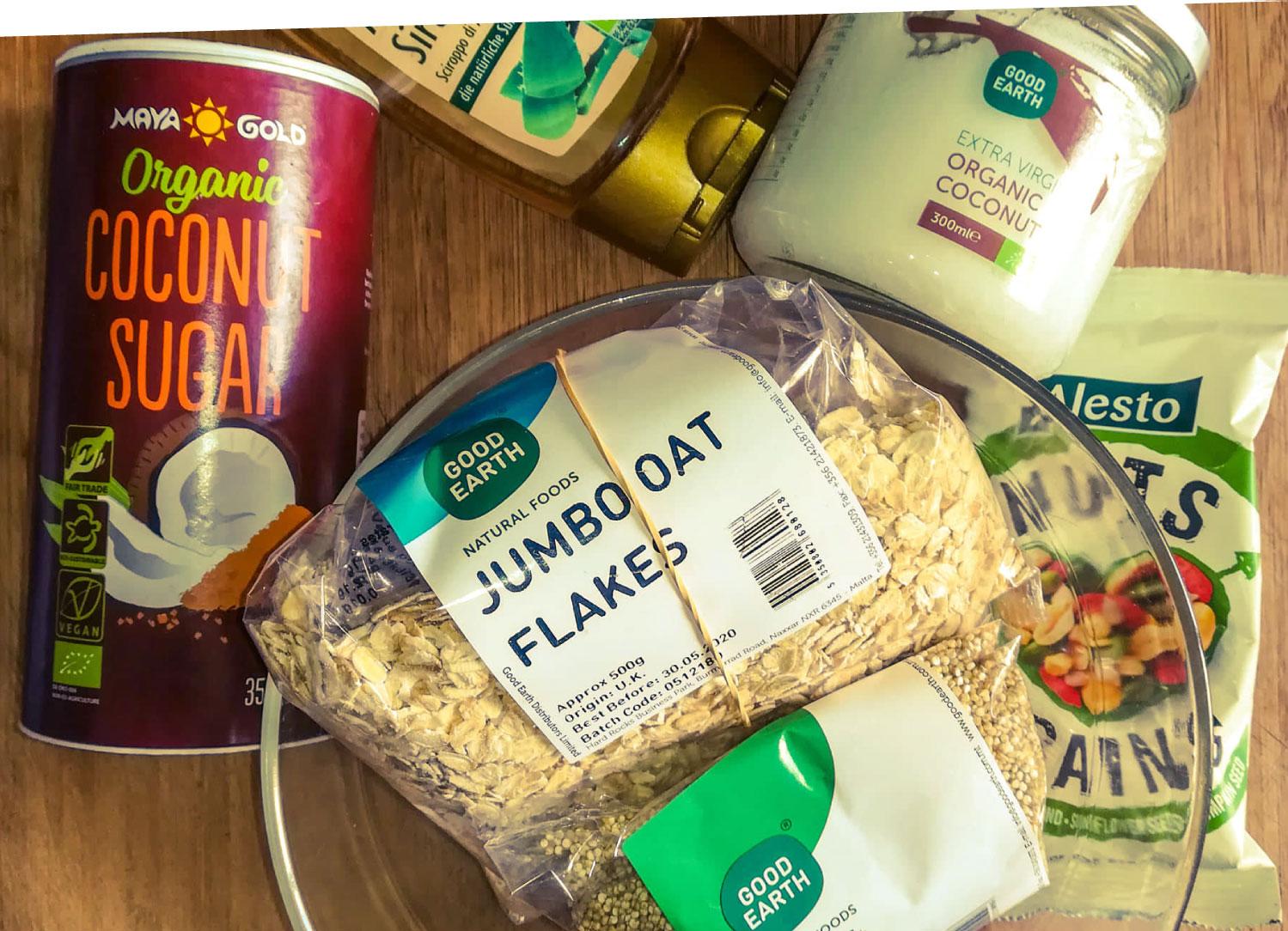 ramona-debono-Crunchy-Quinoa-Granola-ingredients