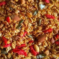 Crunchy Quinoa Granola