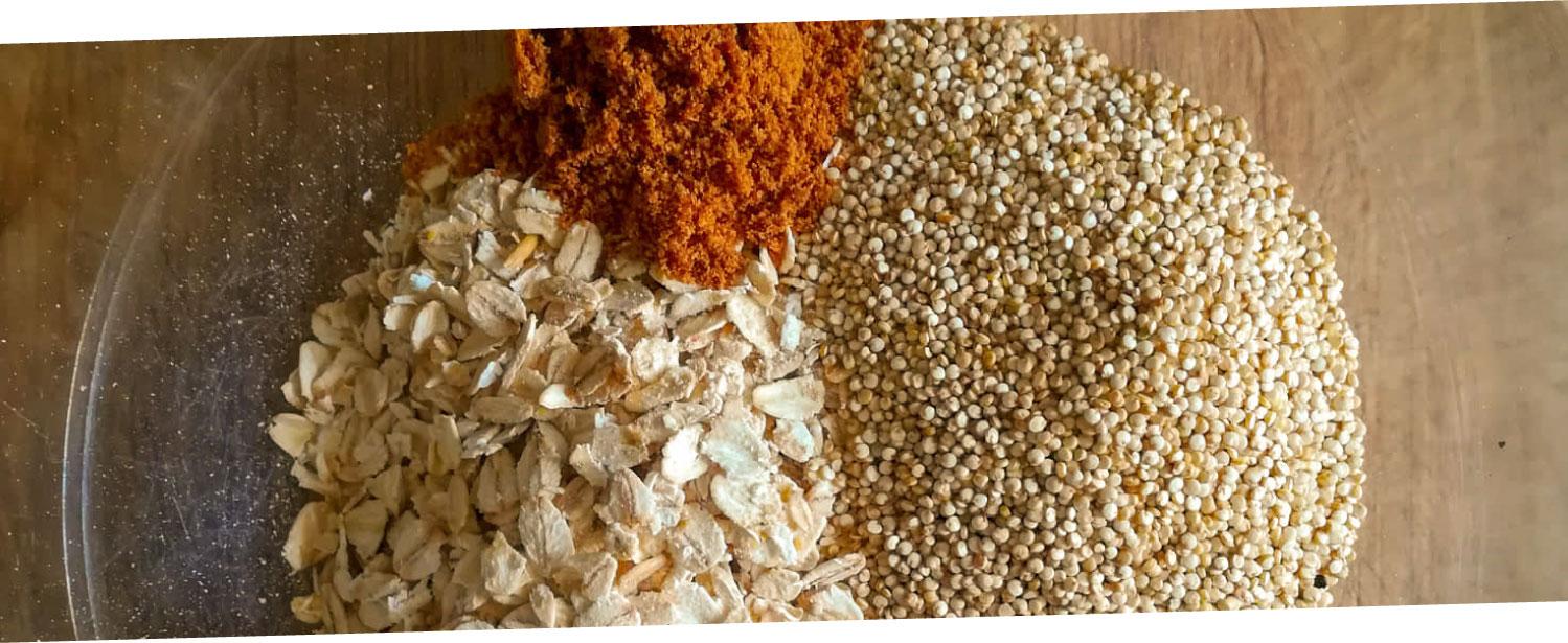 ramona-debono-Crunchy-Quinoa-Granola-mix-dry