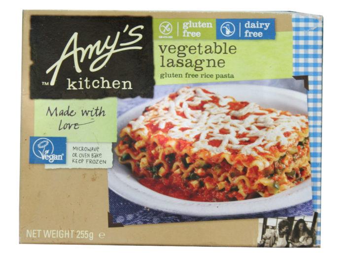 amys lasagne