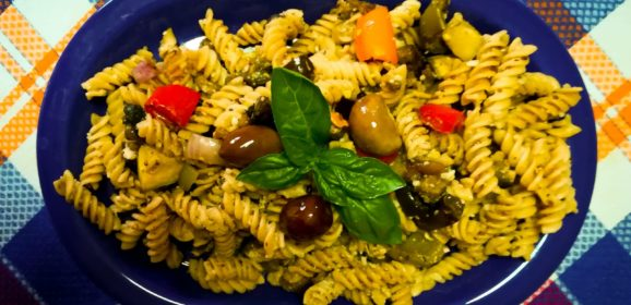 Balsamic Roasted Vegetable Fusilli