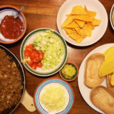 Trying out Old El Paso vegan style