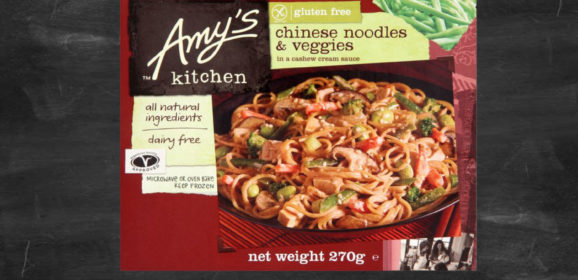Getting to know Amy's Kitchen Chinese Noodles & Veggies
