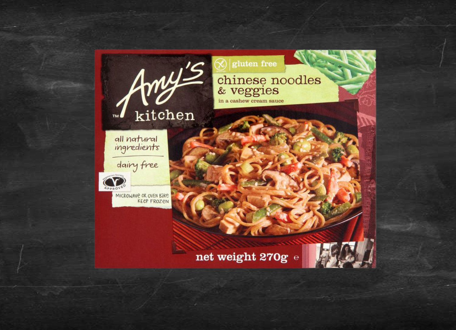 Getting To Know Amy S Kitchen Chinese Noodles Veggies