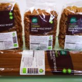 Trying out Good Earth 100% Whole Wheat Pasta