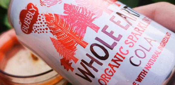 Whole Earth sprakling drinks