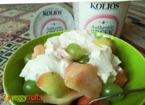 Trying out Kolios Authentic Greek Yogurt Fat Free