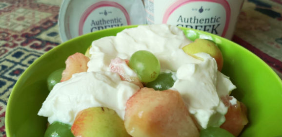 Trying out Kolios Authentic Greek Yogurt Fat Free