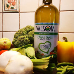 Trying out Valsoia's Olio di Soia