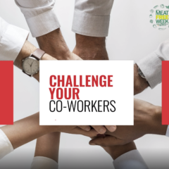 Organise a group at work to join you in this year's Malta Meat Free Week challenge
