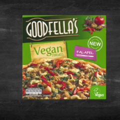 Getting to know Goodfella's vegan falafel pizza