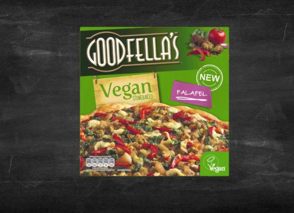 Getting to know Goodfella's vegan falafel pizza