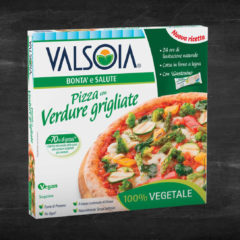 Getting to know Valsoia's Pizza con verdure Grigliate