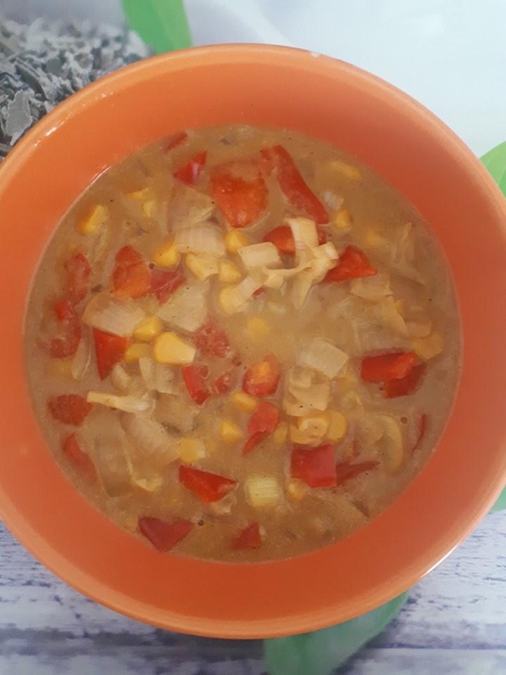 spicy corn chowder