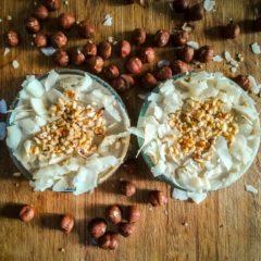 White Chocolate Hazelnut Cheesecake