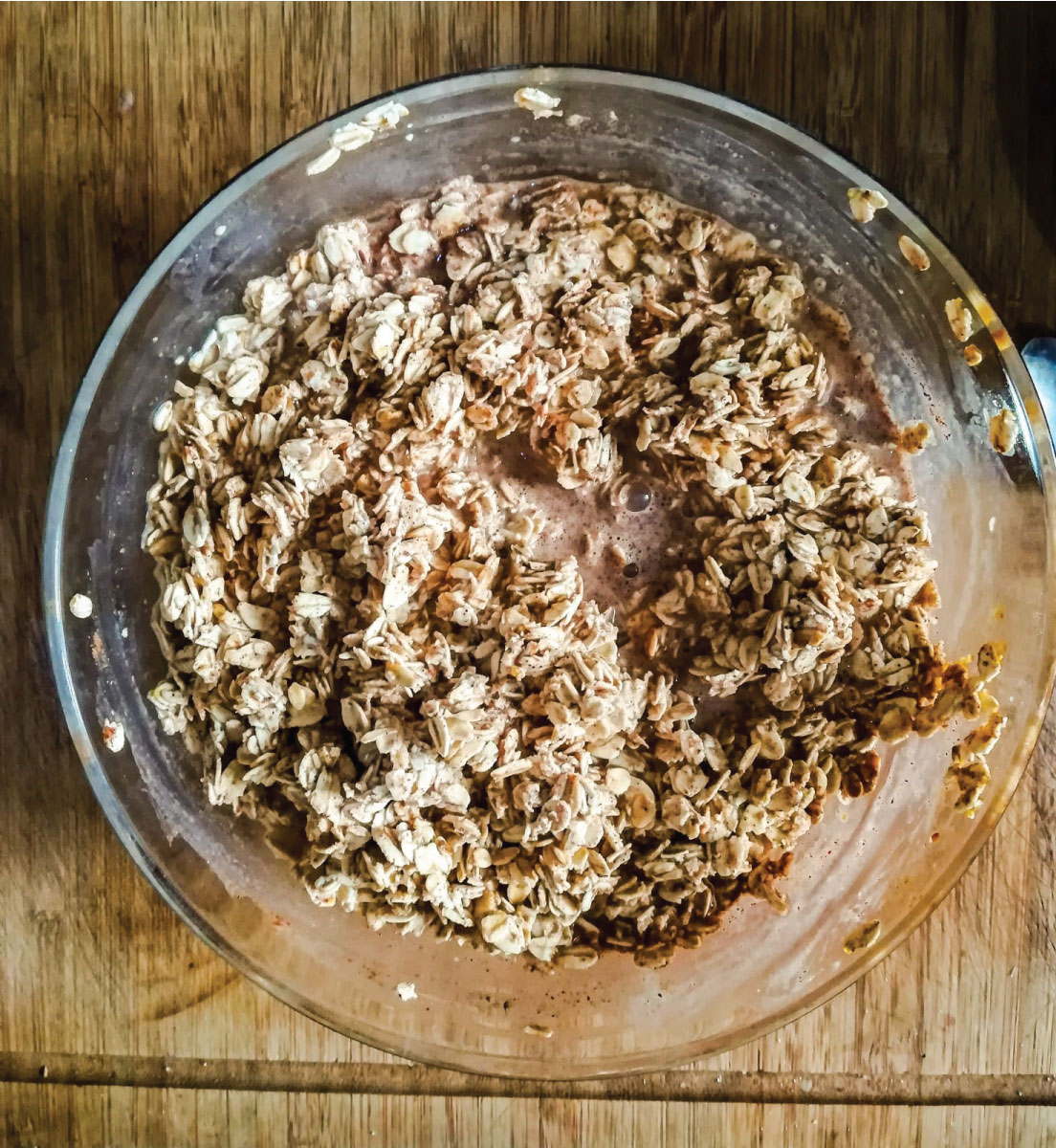 Ramona debono Baked Oats vegan recipe