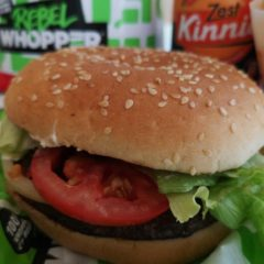 We tried Burger King's new Rebel Whopper