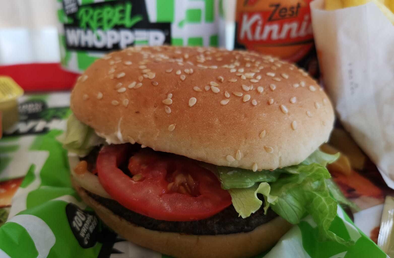 rebel whopper malta burger king vegan vegetarian fast food
