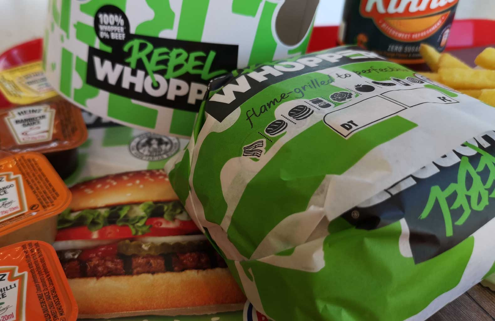 rebel whopper malta burger king vegan vegetarian fast food