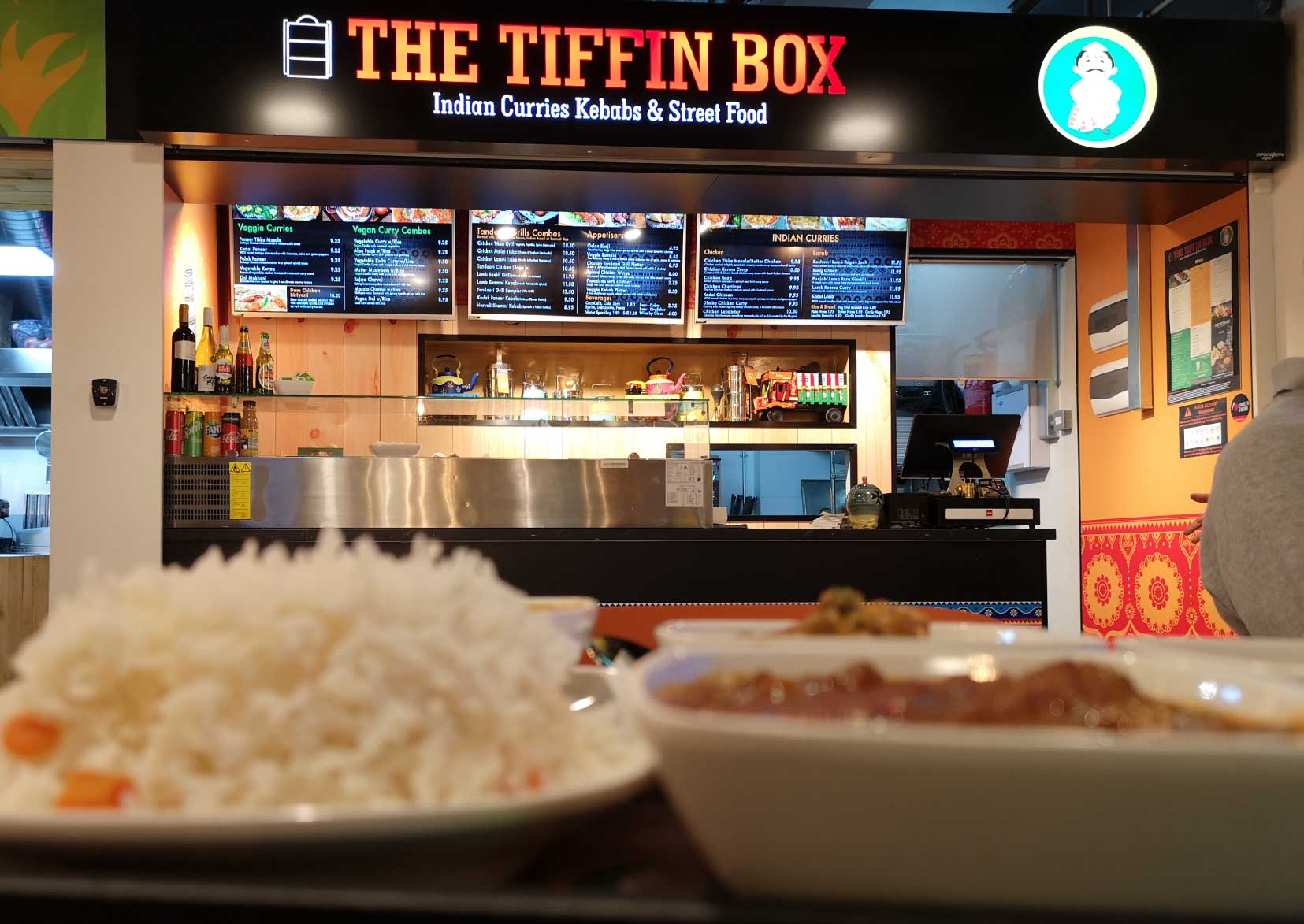 the tiffin box sliema indian restaurant