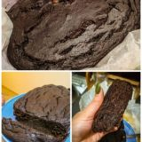 Fudgy Chocolate Zucchini Loaf Cake