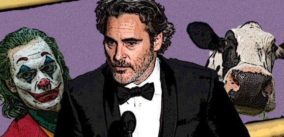 Joaquin Phoenix's Oscars speech in full