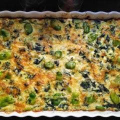 Vegetable Crustless Quiche