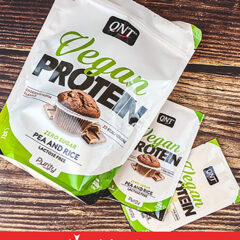 QNT's Vegan Protein Chocolate Muffin
