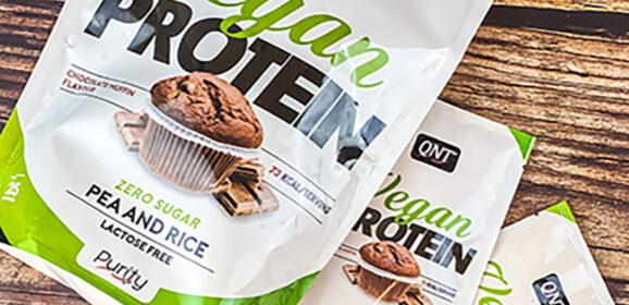 QNT's Vegan Protein Chocolate Muffin