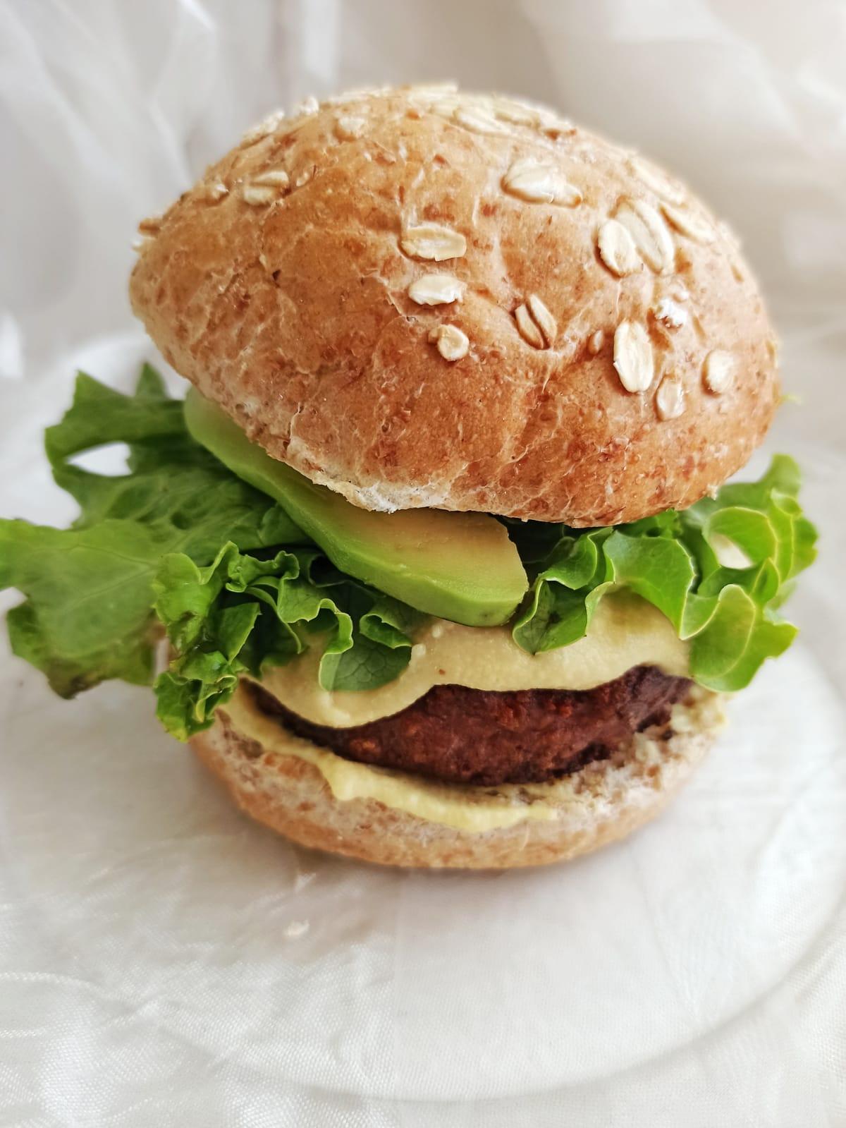 Beyond burger malta cooking bun vegan