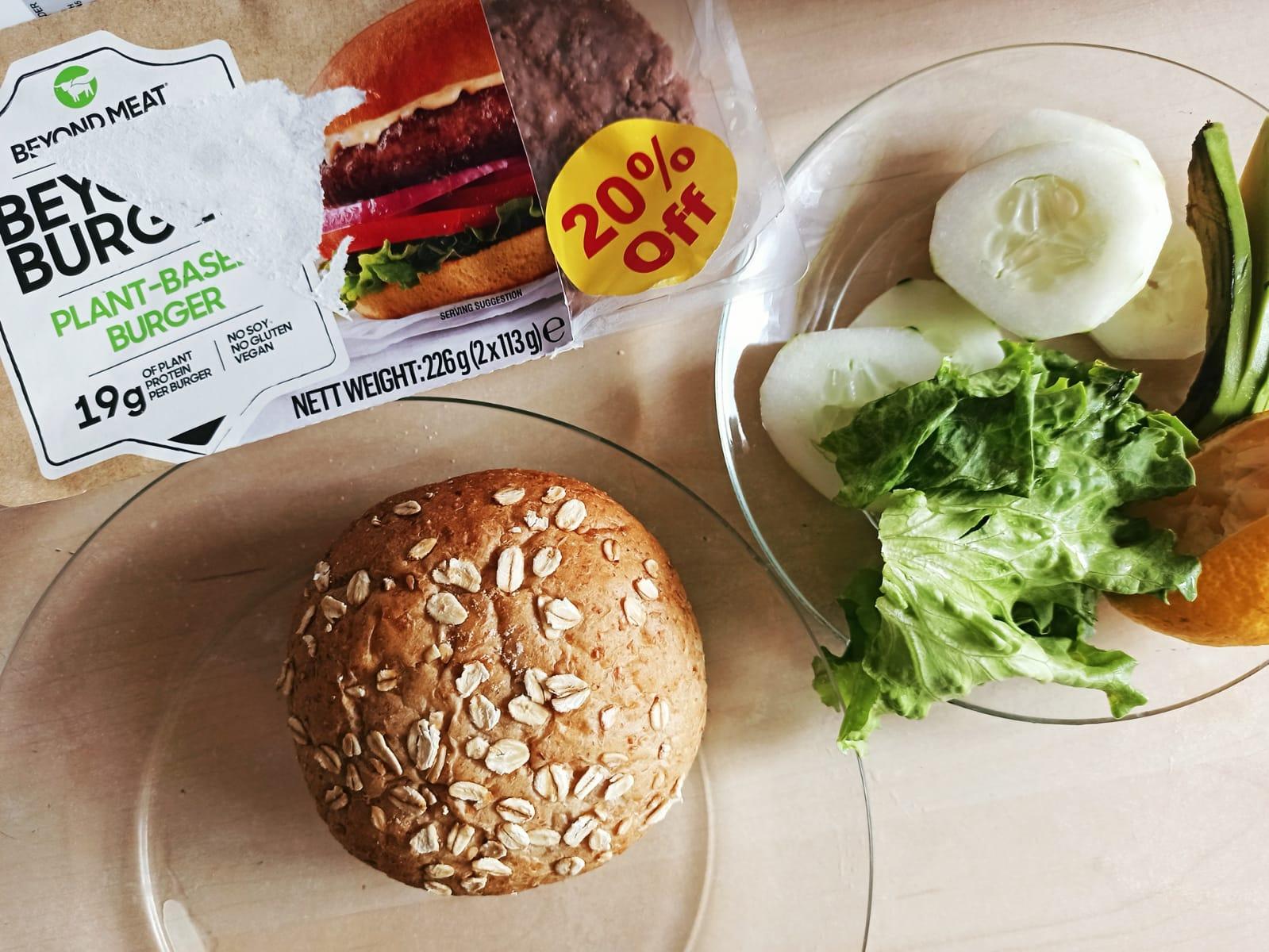 Beyond burger malta cooking prepared