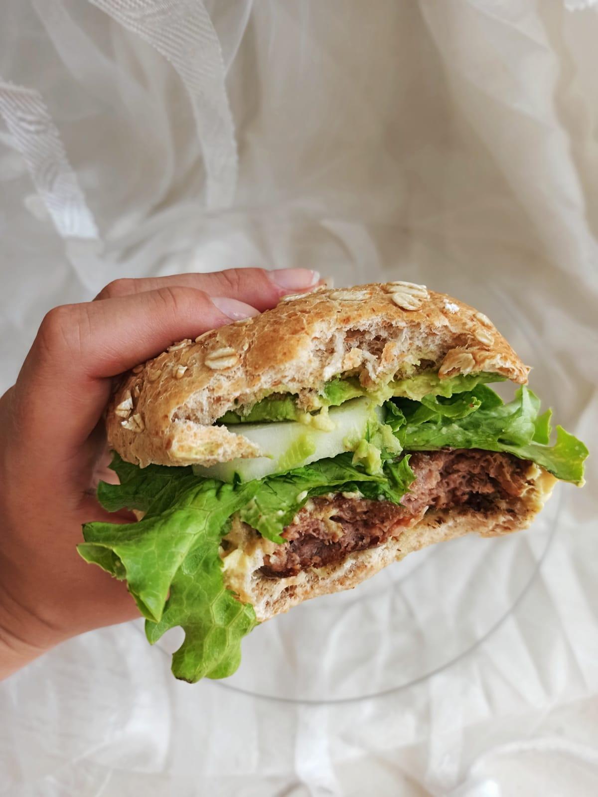 Beyond burger malta cooking tasting