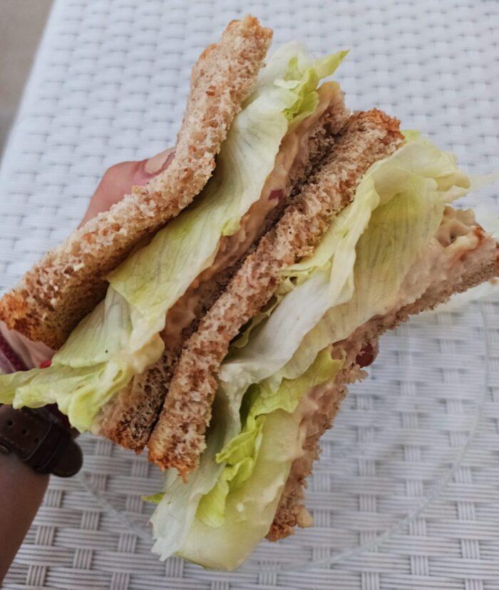 Butter bean tuna salad sandwich recipe