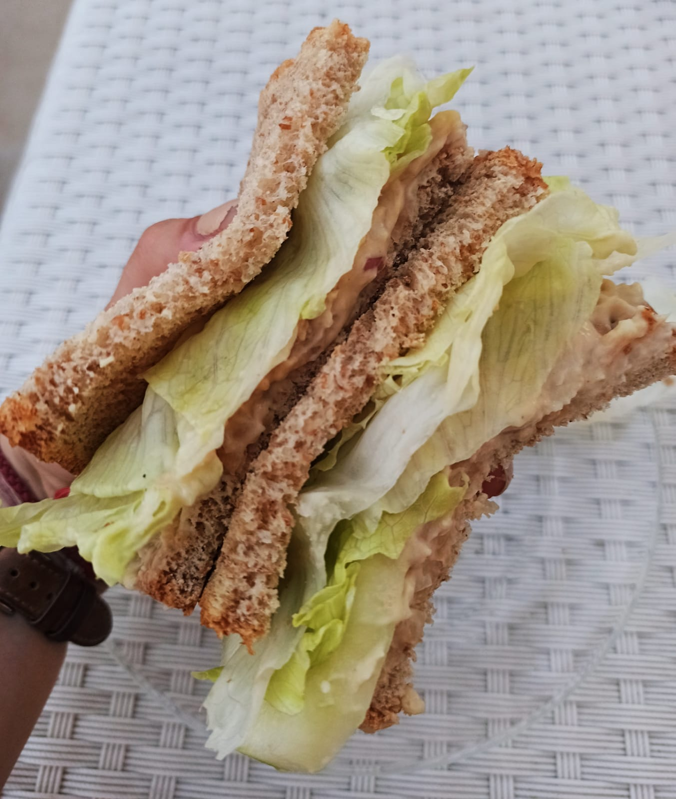 Butter bean tuna salad sandwich recipe