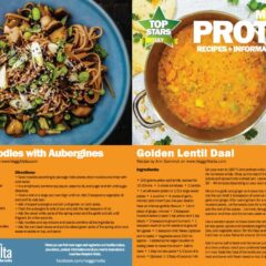 Top Stars July is Meat Free protein – great offers for the month at PAMA and PAVI