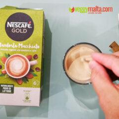 VeggyMalta checks out Nescafe' Gold Almond Macchiato and Coconut Macchiato