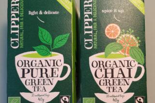 VeggyMalta checks out Clipper Organic Tea