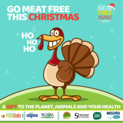 How about a meat free Christmas & a Dairy Free New Year!