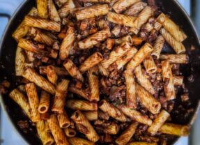 Sweet Potato and Walnut Pasta (and more)