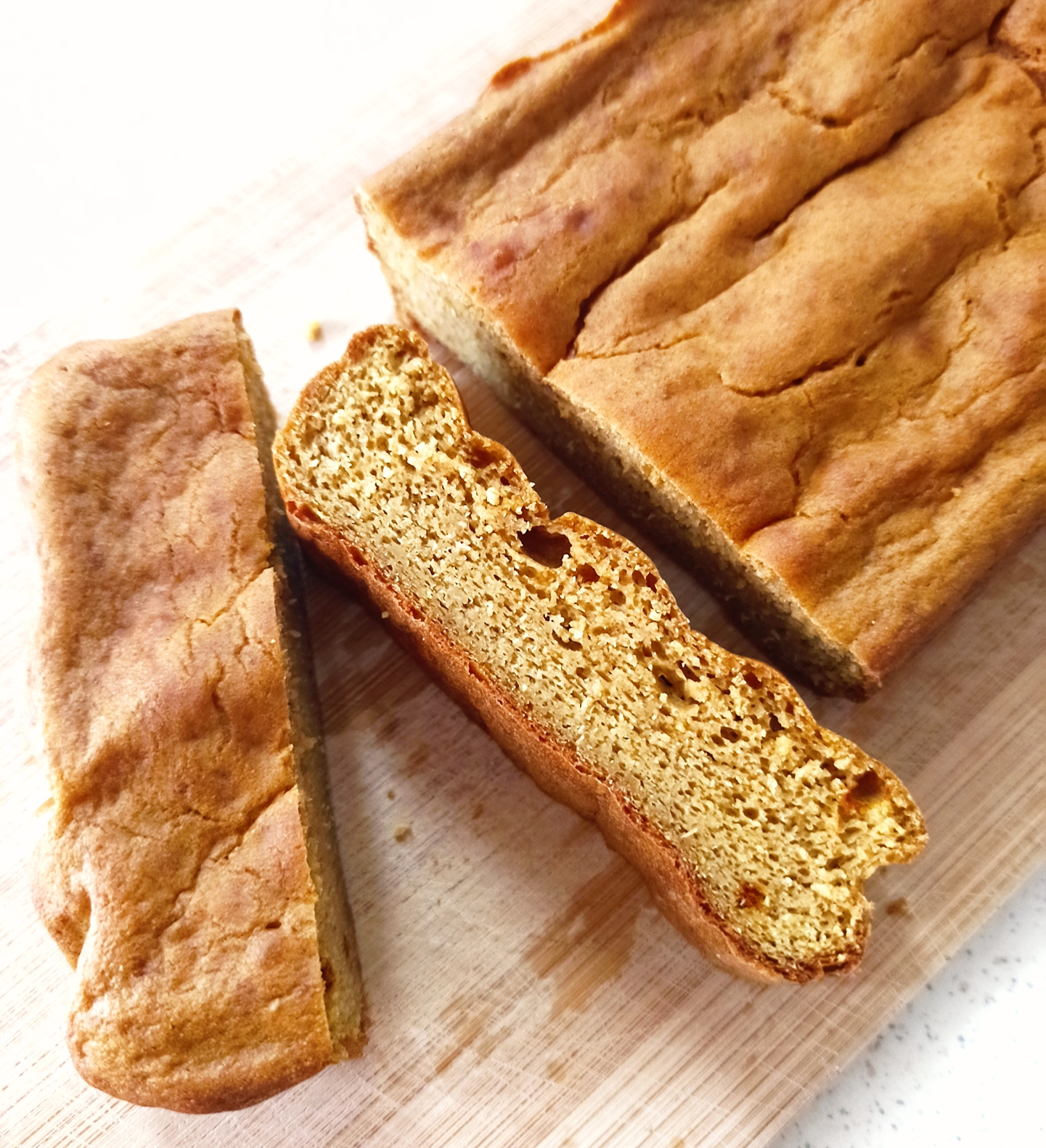 Gluten-free vegan chickpea bread