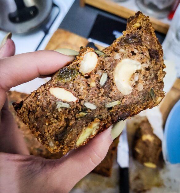High Fibre Cereal Loaf vegan