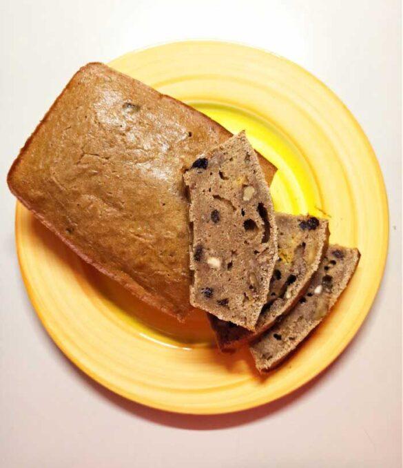 Spelt-orange-loaf