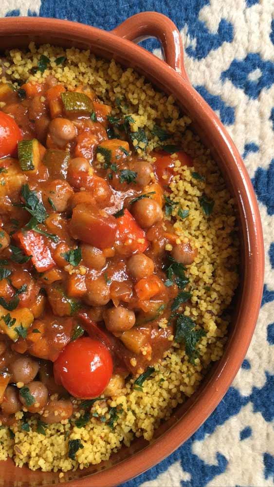 Moroccan-vegan Tagine-spicy-recipe