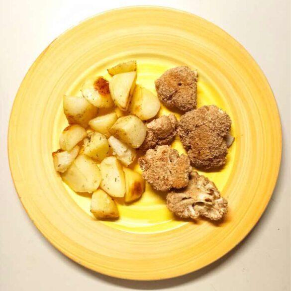 breaded-baked-cauliflower-florets-recipe